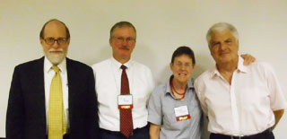 Nic Tideman, Ed Dodson, Polly Cleveland & Fred Harrison
