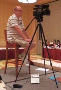 Scott Walton, tireless video guy